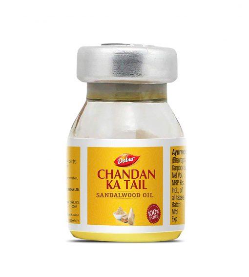 Dabur Edible Chandan Ka Tail (Oil of Sandalwood) 5 ml