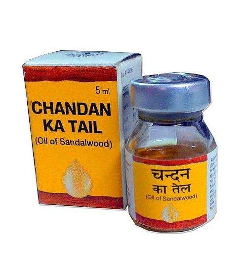 Dabur Chandan Ka Tail (Oil of Sandalwood) 5 ml