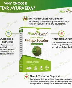Attar Ayurveda Indigo powder