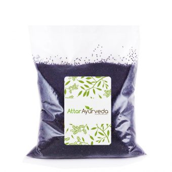 Indian Chia Seeds - Sabja Seeds - Sweet Basil Seeds - Takmaria - Tukmaria (Attar Ayurveda)