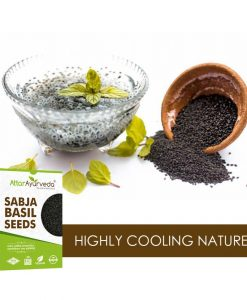 Sabja Seeds - Sweet Basil Seeds - Takmaria - Tukmaria