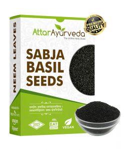 Sabja Seeds - Sweet Basil Seeds - Takmaria - Tukmaria