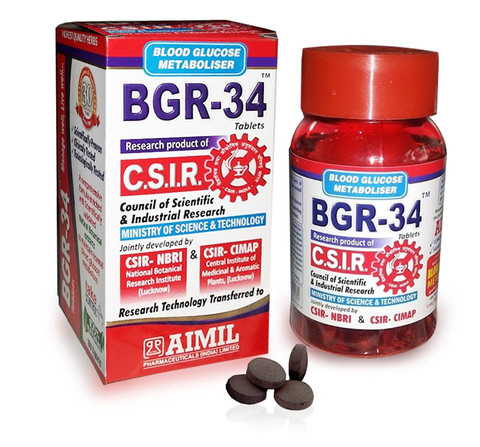 Aimil BGR-34 , 100 tablet(s) - Pack of 3