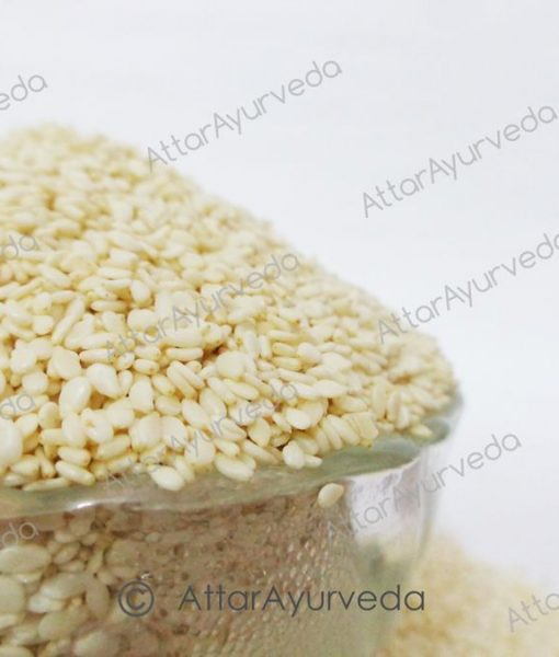 Hulled Sesame Seeds – Sesamum Indicum
