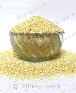 Safed Til - Hulled Sesame Seeds - Sesamum Indicum