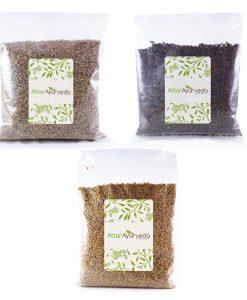 Methi, Ajwain, Kali Jeeri Combo Pack (400 grams) Attar Ayurveda