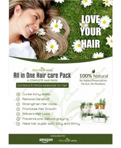 All in One Herbal Hair Care Pack