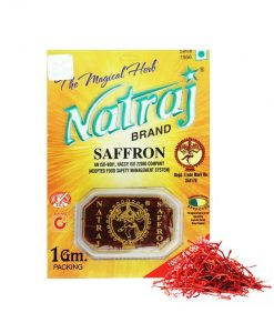 Original Natraj Saffron 1 gram pack
