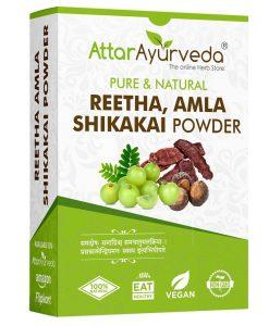 Reetha Amla shikakai powder