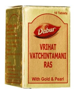 Dabur Vrihat Vatchintamani Ras with Gold & Pearl - 30tab
