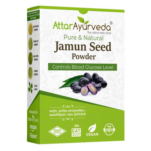 Jamun seeds powder attar ayurveda