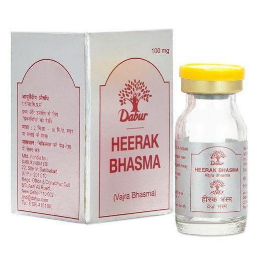 Dabur Heerak Bhasma (Vajra Bhasma) 100 mg