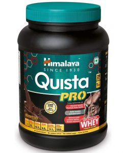 Himalaya Quista Pro Advanced Whey Protein Powder fortified with Power Herbs – 1KG(Chocolate)