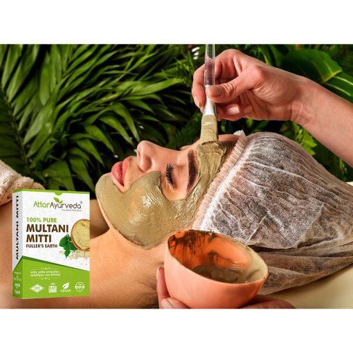 Multani Mitti - Fullers Earth - 100% Natural - Chemical Free