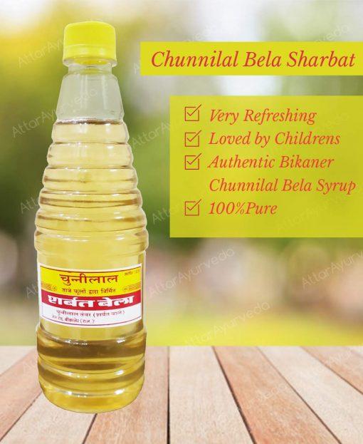 Famous Chunnilal tawar Sharbat Bela (Jasmine flower Syrup)