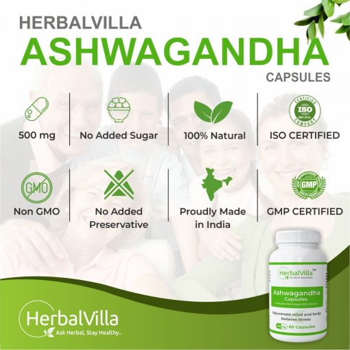 herbalvilla Ashwagandha capsules
